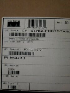 Lot Of 5 New Cisco Cp singlefootstand Kit