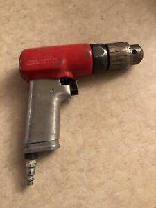 Snap On 3 8 D Air Pneumatic Drill Pdr3a In Good Working Condition