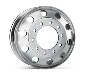 22 5 X 8 25 Aluminum Hd Truck Trailer Wheel Rims Hub Alcoa Style Dually 10 Lug