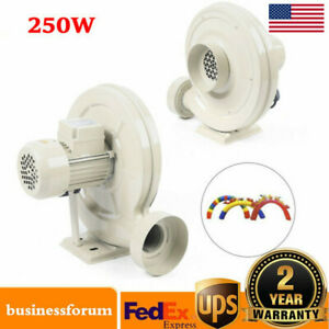 250w Dust smoke Exhaust Blower Fan 570m h For Co2 Laser Engraving Machine Usa