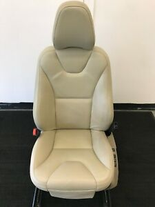 10 11 Volvo Xc60 Left Front Seat Soft Beige Leather G112