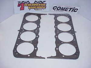 2 New Cometic Multi layer Steel Head Gaskets For Gm Sb2 2 4 180 077 Nascar