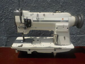 Industrial Sewing Machine Model Singer 211 967 Single Walking Foot Leather