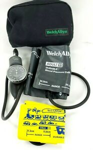 Welch Allyn Tycos Blood Pressure Sphygmomanometer W Large Adult