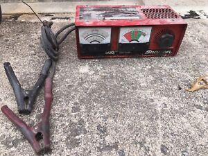 Snap On Ya275 500 Amp Carbon Pile Load Tester 199 Fast Shipping