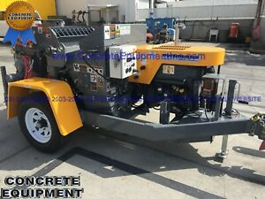 2020 Putzmeister Tk 60hp Tier 4 Concrete Shotcrete Pump