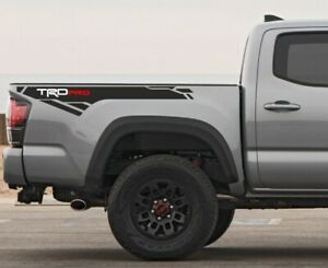 2017 2018 2019 2020 Toyota Tacoma Trd Pro Side Bed Decal Graphics Vinyl Sport