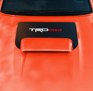 2016 2017 2018 Toyota Tacoma Trd Sport Pro Hood Scoop Lettering Decal Graphics