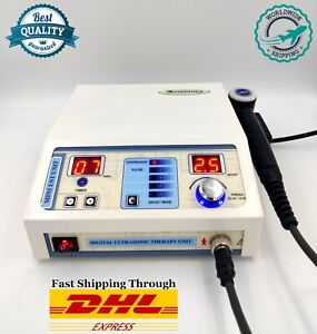 New Medinza Ultrasound Therapy 1mhz Ultrasonic Pain Relief Physiotherapy Machine