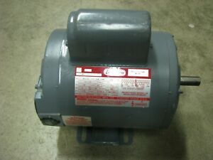 Dayton Electric Motor 3 4 Hp 1725 Rpm 1 Phase 115 230 Volt 5k117ad