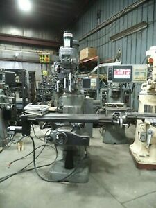 1994 Bridgeport Ez Trak Dx Vertical Milling Machine W 2 Axes Eztrak Cnc Control