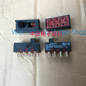 6pcs Defond Dse 2310 1 10a 250v T85 3 Positions Toggle Switches t48l Ys