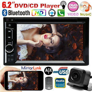 For Chevrolet Chevy 2din Car Radio Stereo Cd Dvd Bluetooth Touch Screen Camera