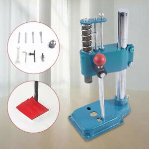 Mute Manual Diy Leather Imprinting Machine Leather Hole Punch Hand Holes Punches