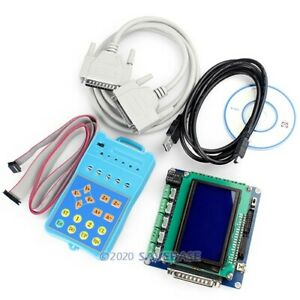Latest 5 Axis Intelligent Cnc Breakout Inteface Board Set Lcd Display Keypad