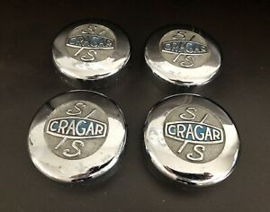 Crager Ss Authentic 3 In Wheel Center Cap Set Of 4 fast Shipping