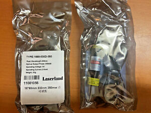 9 Pcs Brand New 16 68mm 830nm 300mw Infrared Line Focusable Laserland Module