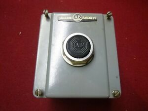 Allen Bradley Momentary Stop Button Switch 800t b2 Series N 8 With Enclosure
