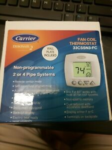 Carrier 33cssn3 fc Fan Coil Thermostat Non programmable