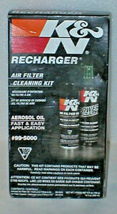 K N Recharger Air Filter Cleaning Kit 99 5000 New In Box Unopened