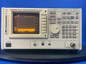 Advantest R3261c Spectrum Analyzer 2 6 Ghz