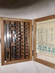 Gauge Block Set