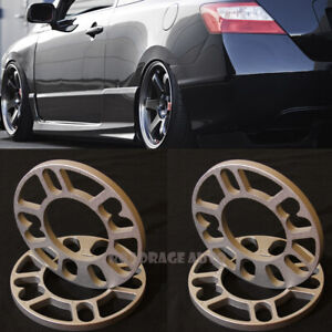 Jdm Universal Wheel Rim Extended Spacers Shim For 4 5 Stud 4x100 5x114 3 10mm X4