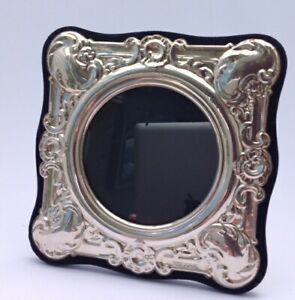 Birmingham England Sterling Silver Photo Frame By Pjp