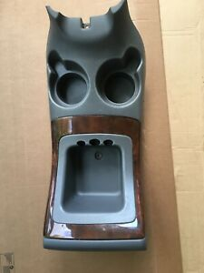 Used Oem 2000 2002 Lincoln Navigator Center Console Tray Panel Cup Holder Cover