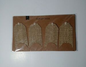 Burlap Price Tags