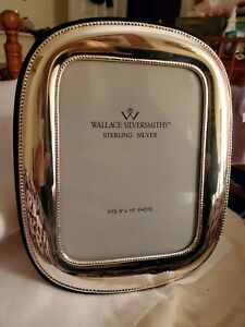 Wallace Sterling Silver 925 Photo Photograph Picture Frame 8 X 10
