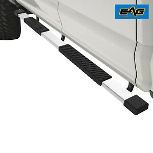 Eag 4 Chrome Running Board Aluminum bracket Fit 16 17 Gmc Sierra 2500 Crew Cab