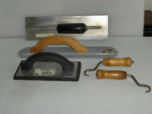 Assort Of Concrete Finishing Tools see Details Below