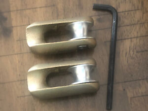 2 New Greenlee 678 Rope Clevis 6 500 Lbs Capacity Free Shipping