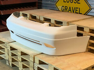Fiberglass Supermade Style Front Bumper For 89 94 Nissan 240sx 180sx Pop Up
