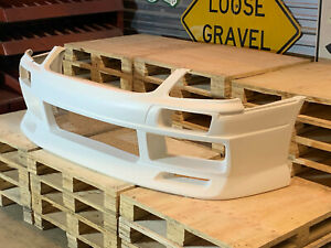 Fiberglass Type D Style Front Bumper For 01 07 Nissan Stagea