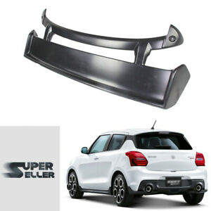 For Suzuki Swift Hatchback 4th Zc33s M look Rear Roof Spoiler 18 on Painted