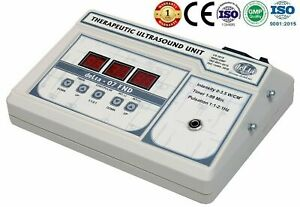 1 Mhz Ultrasound Ultrasonictherapy Physical Therapy Portable Light Weight Unit