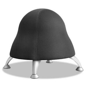 Runtz Ball Chair Licorice Black Seat licorice Black Back Silver Base