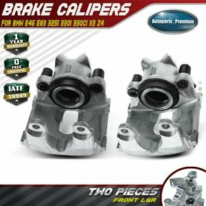 2x Disc Brake Caliper For Bmw E46 330xi 330i 330ci E83 X3 Z4 Front Left Right