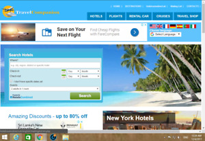 Best Travel And Hotel Affiliate Website 1001 Free Installation Cpanel Hosting