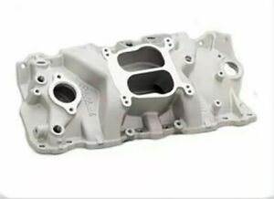 Edelbrock 3701 Performer Series Intake Manifold Sbc Small Block Chevy 350 305