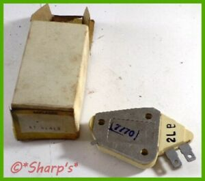 Ar55827 At31413 John Deere 3020 4020 7520 Voltage Regulator New Old Stock
