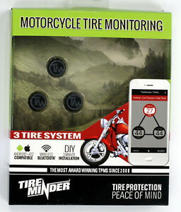 Tire Minder Motorcycle Tire Wireless Monitoring System 3 Wheel Cycle tpms 3