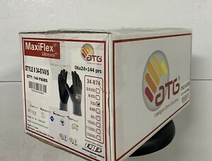 New 144 Pairs Maxiflex Ultimate 34 874 Size 7 small Coated Gloves