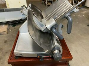 Hobart 2812 Commercial Countertop Electric Meat Cheese Deli Slicer 1 2 Hp 120v