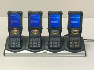 Symbol Motorola Mc9190 gj0swgqa6wr Barcode Scanner Bundle lot Of 4