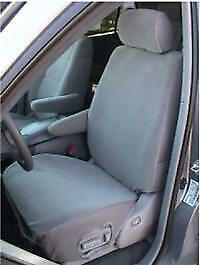 2000 2004 Toyota Sequoia Exact Fit Seat Covers Gray Twill Head armrest Covers