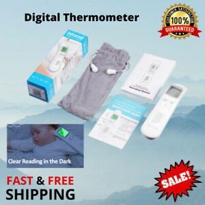 Fever Thermometer Ear Forehead Infrared Digital Medical Age Range Switch Mode