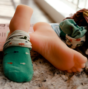 Girl Silicone Soft Bone Foot Model Beauty Photography Stocks Display Props Lhb47